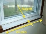 Custom Width and Depth Sill Shield
